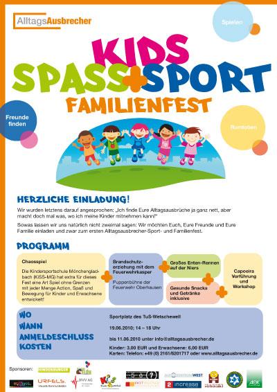 kinderfest in wetschewell - alltagsausbrecher, Einladungen